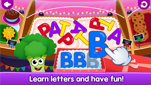 Funny Food!ud83eudd66learn ABC games for toddlers&babiesud83dudcda 1.8.1.10 screenshots 18