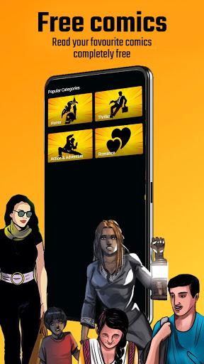 Free Comics - Pratilipi Comics apktram screenshots 3