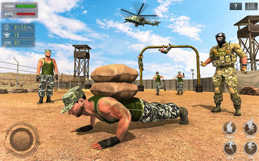 US Army Training School Game: Obstacle Course Race 4.0.0 screenshots 6