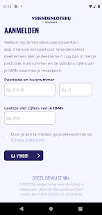 Image For VriendenLoterij Goal Alert Versi 1.0.0 2