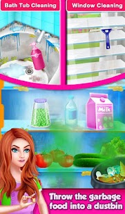 Magic House Cleaning - Girls Home Cleanup Game Screenshot