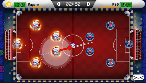 Royal Table Soccer: The Best Button Game modavailable screenshots 2