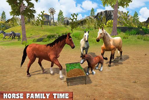 Horse Family Jungle Adventure Simulator Game 2020 screenshots 4