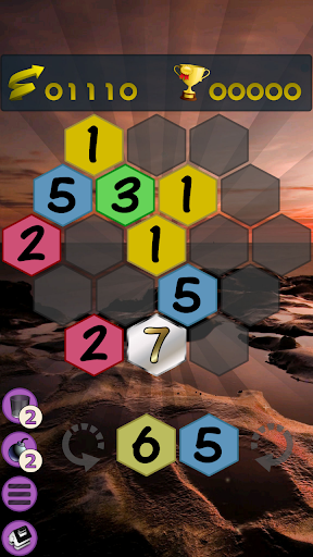 Get To 7, merge puzzle game - tournament edition.  screenshots 2