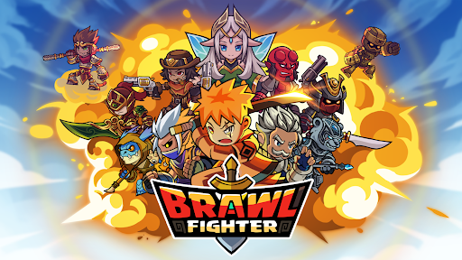 Brawl Fighter - Super Warriors Fighting Game  screenshots 1