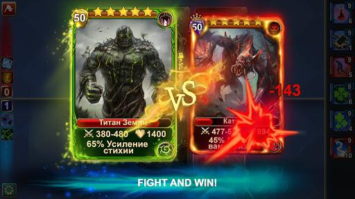 Blood of Titans: Quest & Battle Fantasy CCG screenshots 2