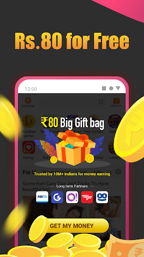 Roz Dhan: Earn Wallet cash, Read News & Play Games android2mod screenshots 5