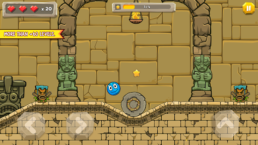 Blue Ball 11: Bounce Ball Adventure 2.1 screenshots 14