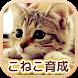 ねこ育成ゲーム - 完全無料!子猫をのんびり育てるアプリ!かわいいねこゲーム!