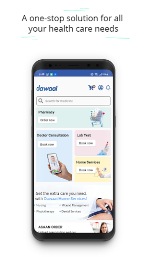 Dawaai - Online Medicines and Healthcare  screenshots 1