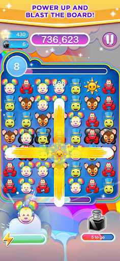 Disney Emoji Blitz - Disney Match 3 Puzzle Games  screenshots 9
