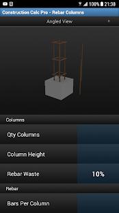 Construction Calc Pro Screenshot