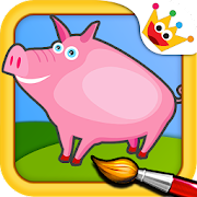 Farm Animals: Kids & Girls puzzles games Free