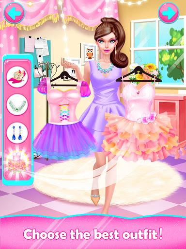 Fashion Doll: Shopping Day SPA ❤ Dress-Up Games  screenshots 2