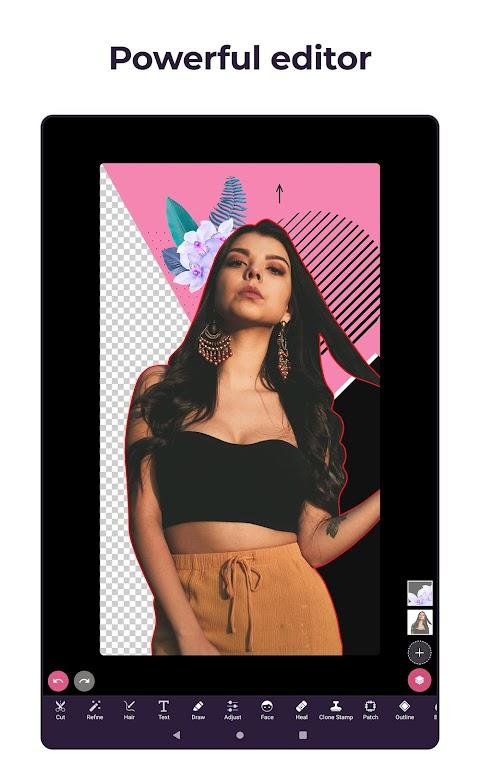 Pixomatic - Background eraser  poster 6