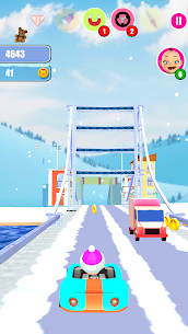 Baby Snow Run – Running Game Game Hack Android and iOS 4