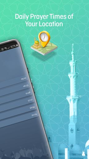 Qibla Finder, Prayer Times, Quran, Azan, Tasbeeh modavailable screenshots 2
