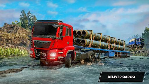 Future Truck Simulator : Hill Transport Driver  screenshots 17