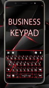 Red Tech Keyboard Theme 1
