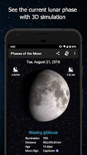 Phases of the Moon Calendar & Wallpaper Free 1