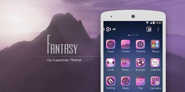 (Free)Fantasy GO LauncherTheme