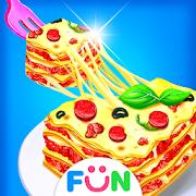 Cheese Lasagna Cooking -Italian Baked Pasta Game