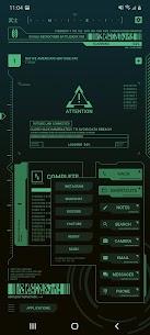 Cyberpunk Theme for KLWP 4
