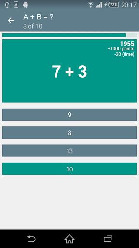 Math Game MA-2.2.7 screenshots 1