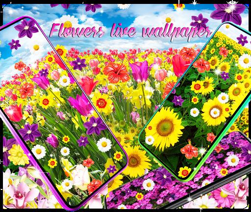 flowers live wallpaper screenshot 1