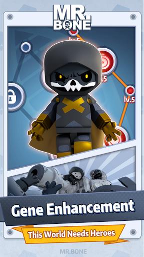 Code Triche Mr. Bone (Astuce) APK MOD screenshots 5