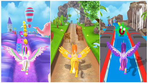 Unicorn Runner 3D - Super Magical Runner Adventure 1.0.2 screenshots 5