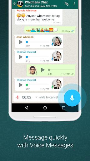 WhatsApp Messenger poster