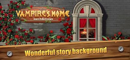 Vampire's Home: Match & Design