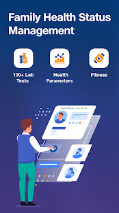JioHealthHub - Doctors, Lab Tests, Reports, Vitals 3.3.519 screenshots 1