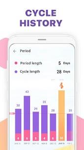 Urmărire menstruaţie -Calendar ovulaţie şi sarcină 5