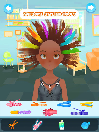 Hair salon games : Hair styles and Hairdresser apkdebit screenshots 10