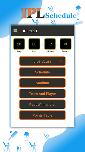Live Score, Schedule, Points Table for IPL 2021 hack tool
