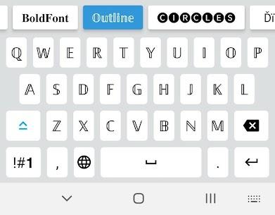 Fonts Emojis Keyboard 2