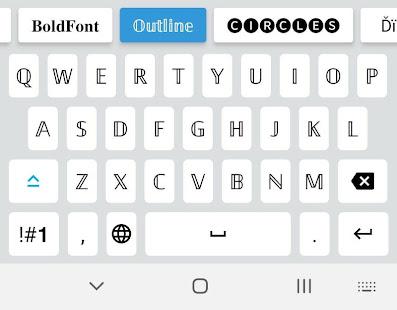 Fonts Emojis Keyboard 7 Screenshots 2