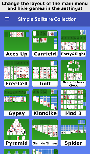 Solitaire Collection - Bunch of 16 Solitaire Games 1.4 Screenshots 1