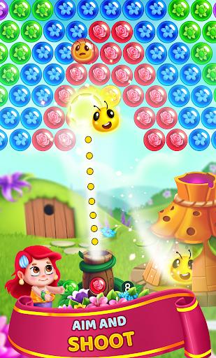 Flower Games - Bubble Shooter 4.2 screenshots 2