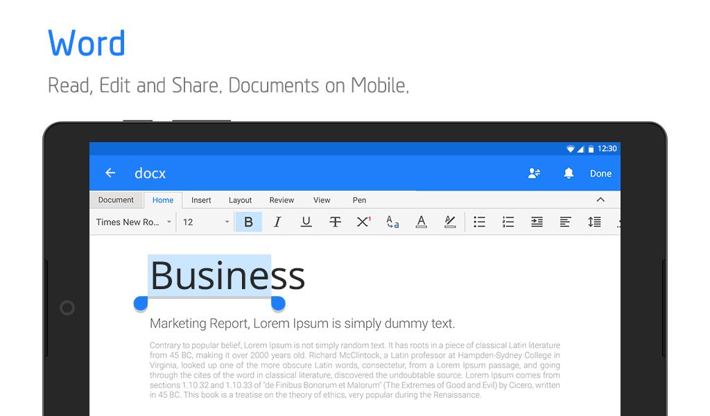 Polaris Office - Free Docs, Sheets, Slides + PDF poster 17