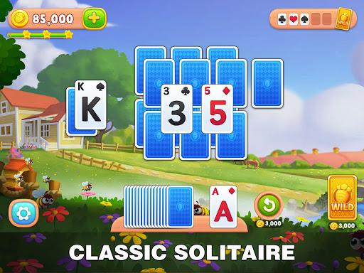 Solitaire Farm: Classic Tripeaks Card Games  screenshots 8