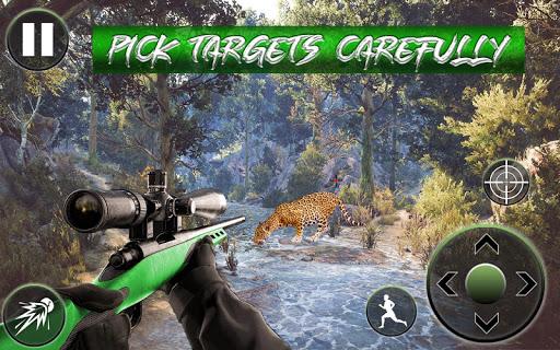 Chasse sauvage 3d: Jungle Animal Hunting Games APK MOD – Pièces de Monnaie Illimitées (Astuce) screenshots hack proof 1