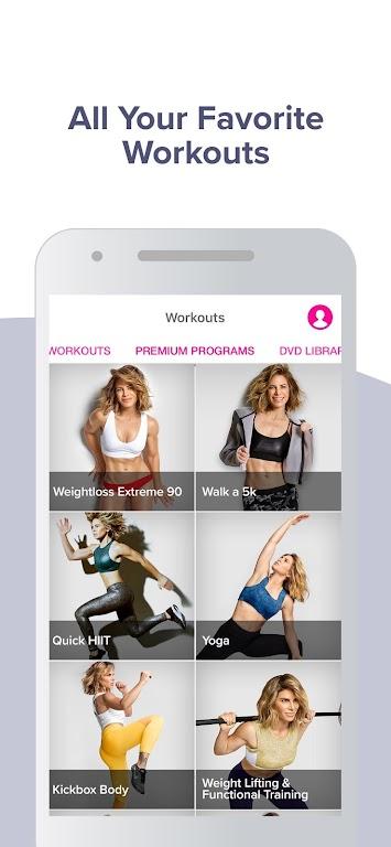 Jillian Michaels: The Fitness App  poster 2
