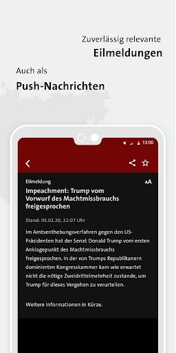 tagesschau - Aktuelle Nachrichten 3.0.2 Screenshots 5