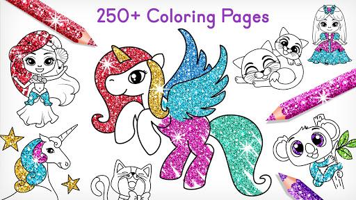 Coloring Games for Kids -Tashi apkpoly screenshots 1