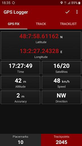 GPS Logger 2.3.1 Screenshots 2