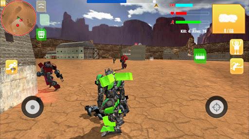 Robot War Free Fire - Survival battleground Squad 1.0 screenshots 8