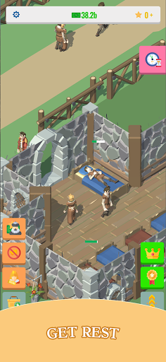 Idle Medieval Village: 3d Tycoon Game  screenshots 5